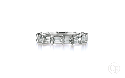 Emerald Cut Wedding Ring